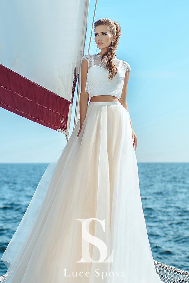 5dc7fe14152 Эксклюзивно и потрясающе! Роскошные свадебные платья завораживают ...