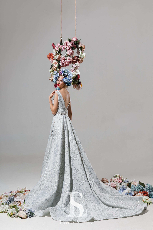 Evening dresses «Strelitzia»-2