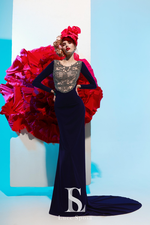 Evening dresses «Petunia»-1
