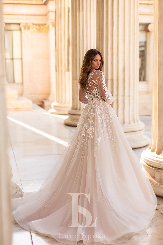 Свадебные платья оптом «Avrora»-3