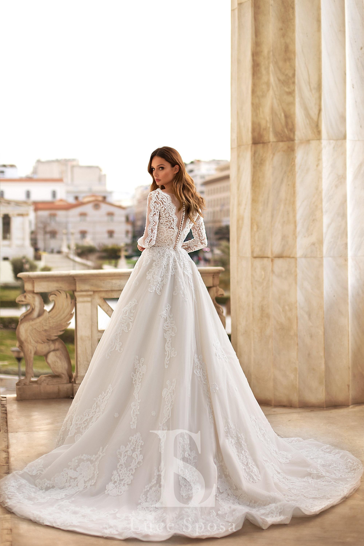 Свадебные платья оптом «Demetra»-3