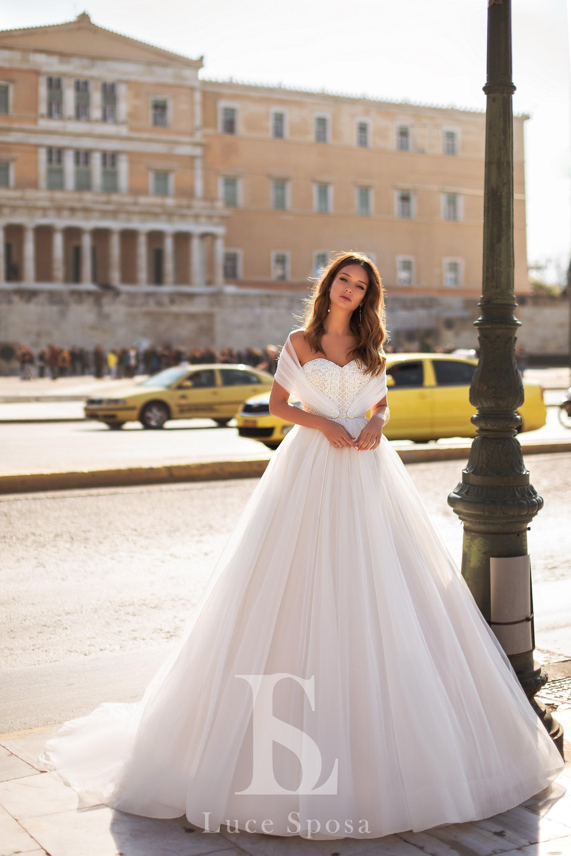 Свадебные платья оптом «Femida»-1