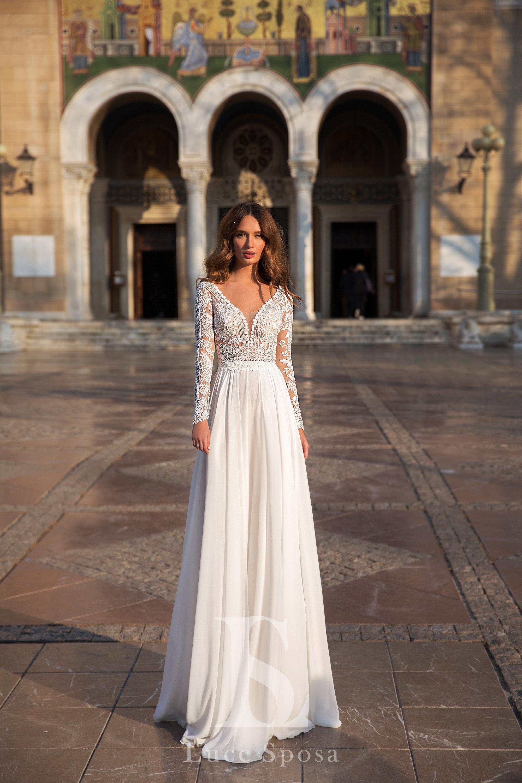 Свадебные платья оптом «Hilton»-1