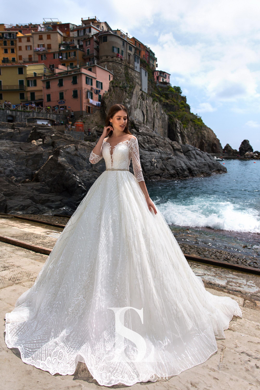 Пышное свадебное платье оптом от Luce Sposa