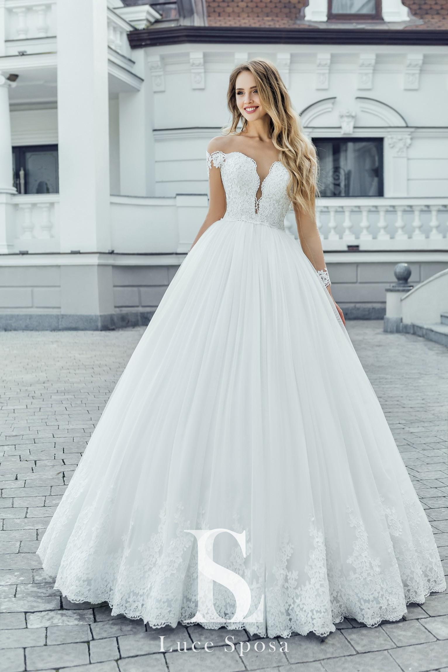 Свадебные платья оптом «Paula»-2