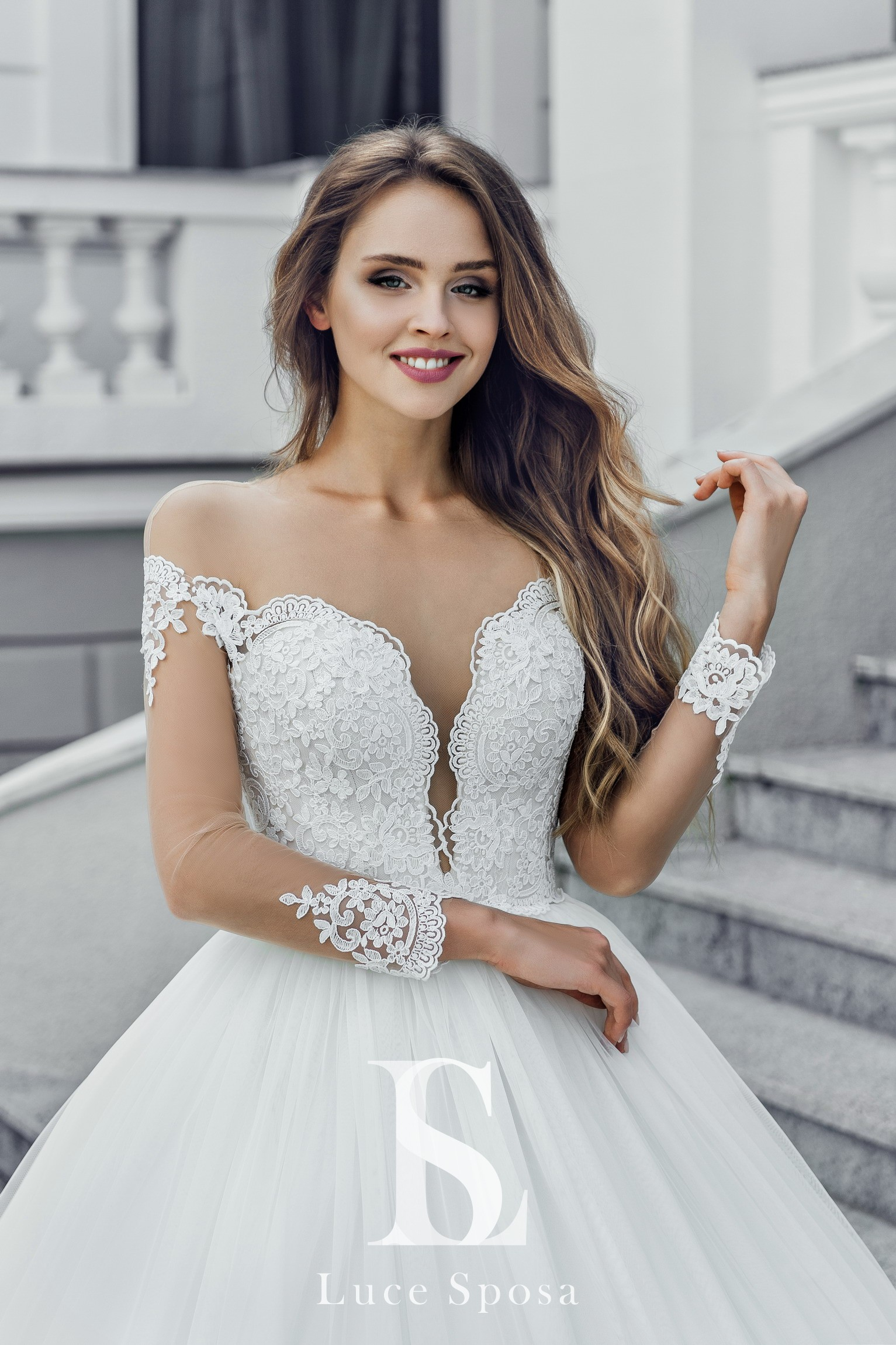 Свадебные платья оптом «Paula»-1