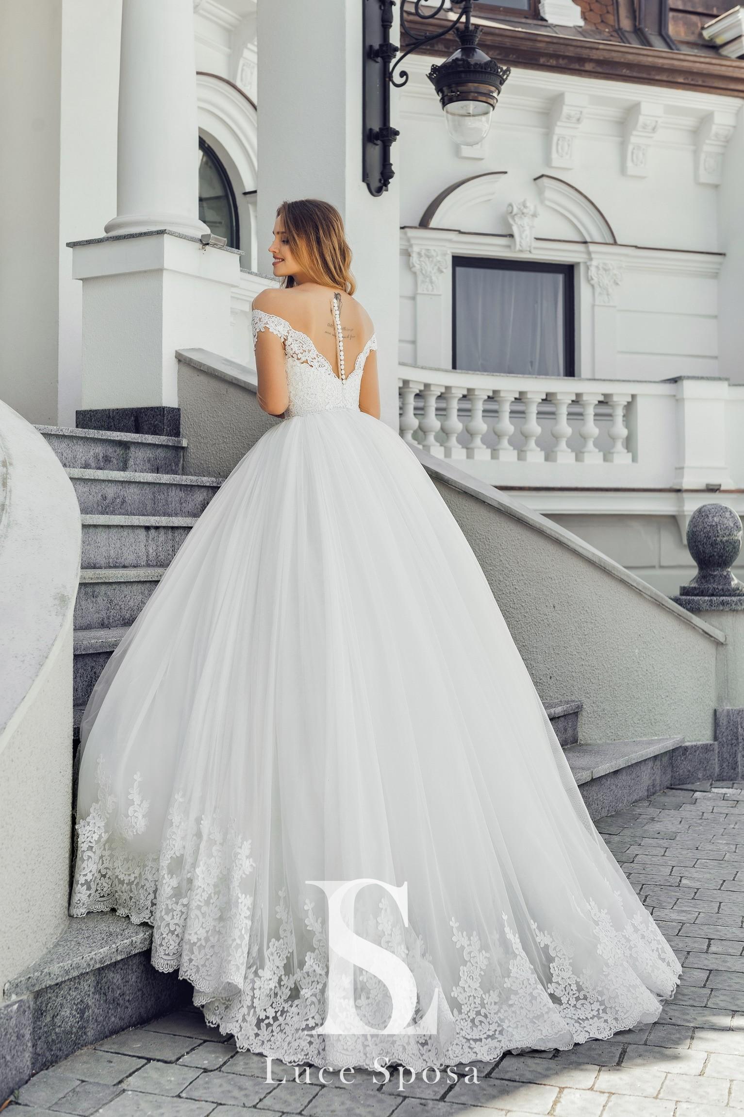 Свадебные платья оптом «Paula»-3