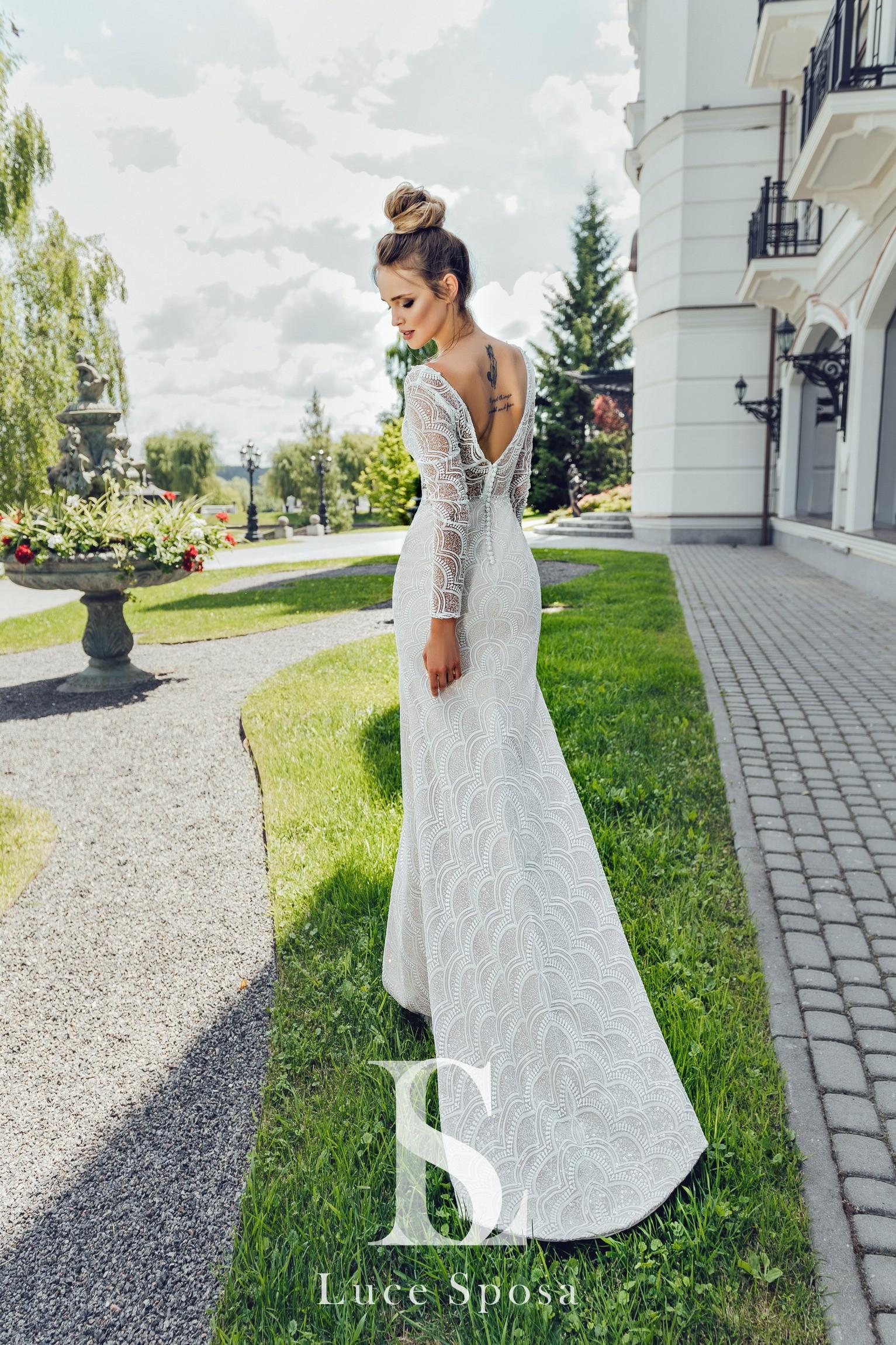 Свадебные платья оптом «Edda»-3