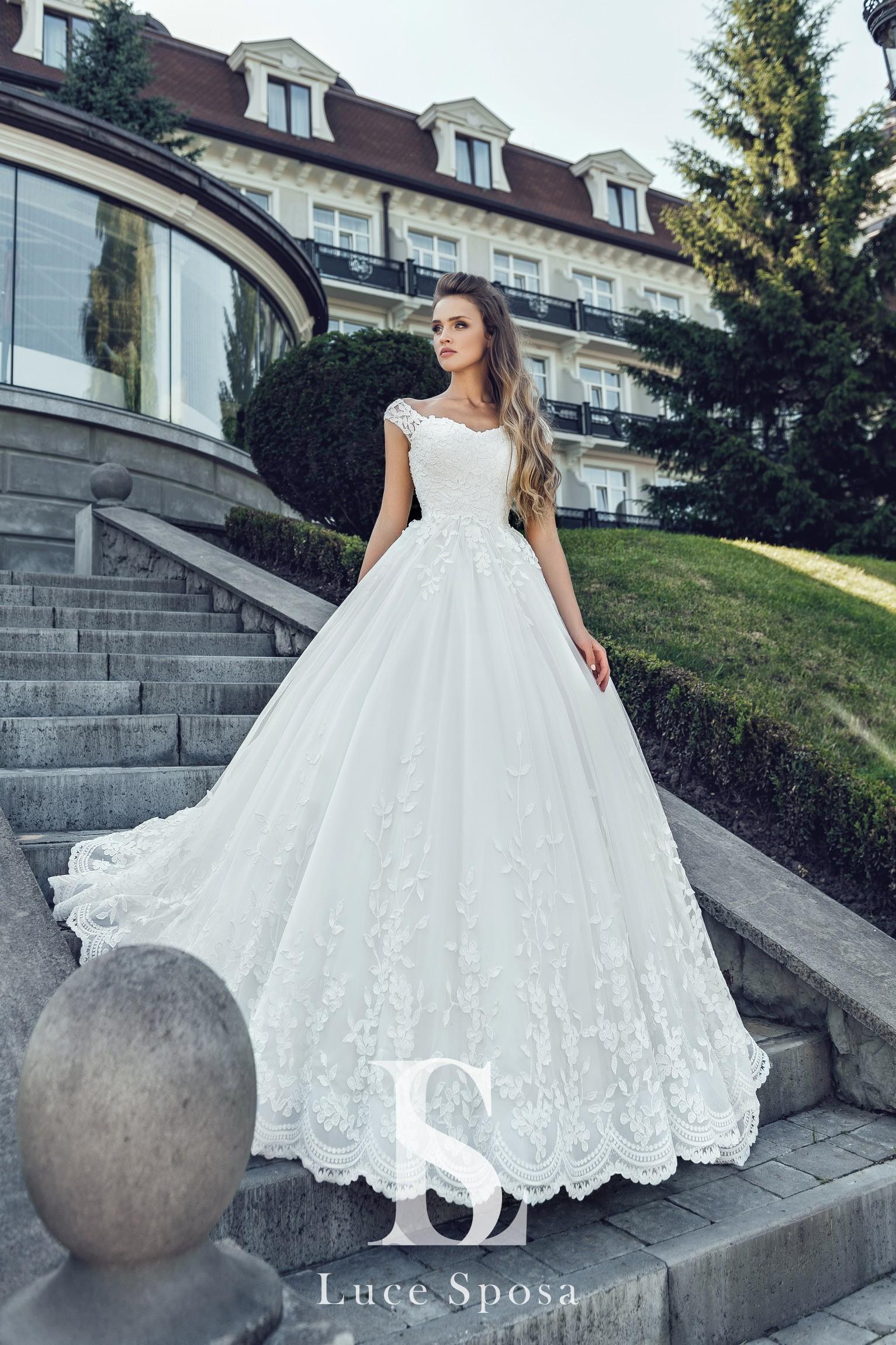 Свадебные платья оптом «Catalina»-2