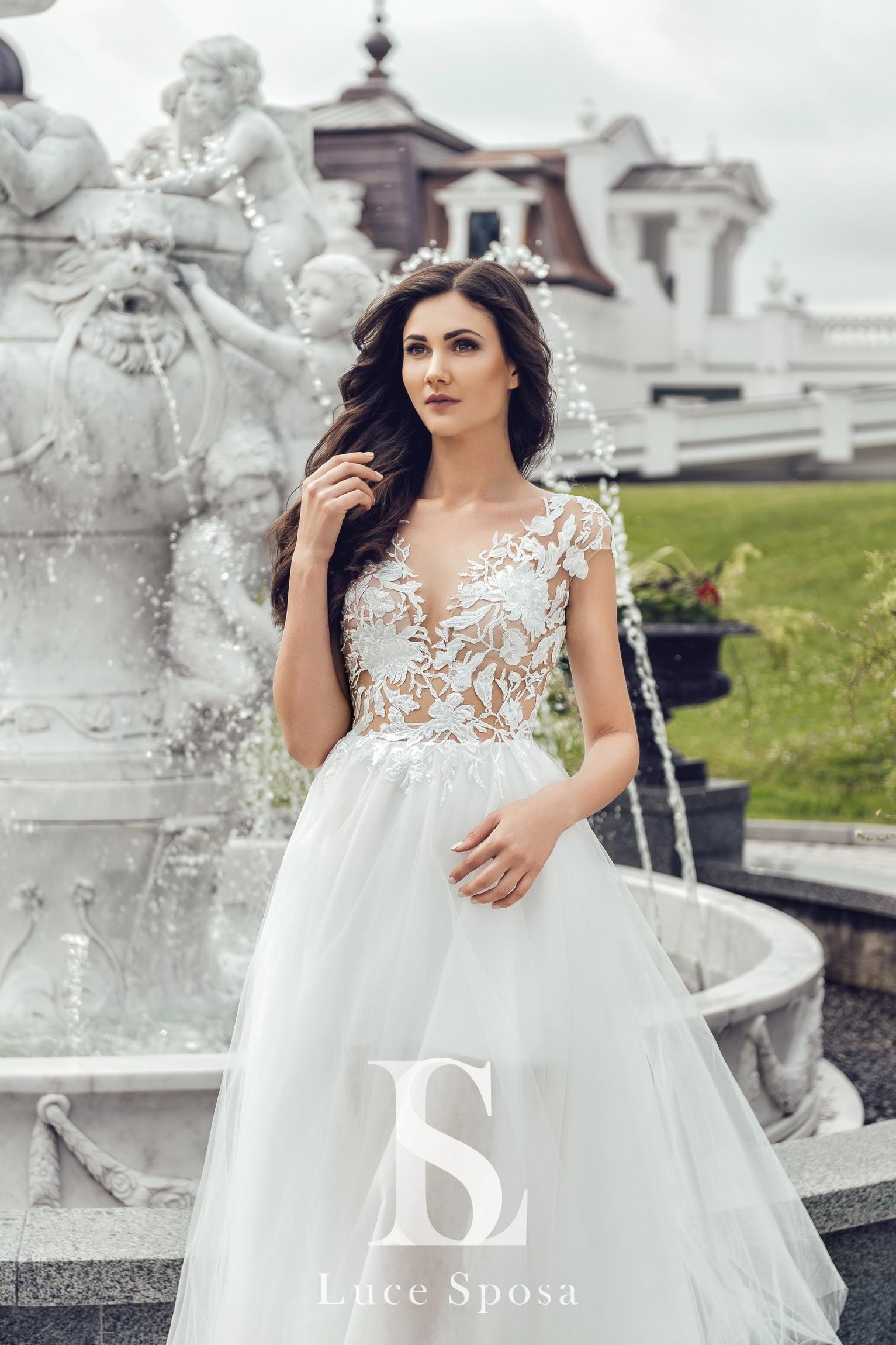 Свадебные платья оптом «Marisa»-1