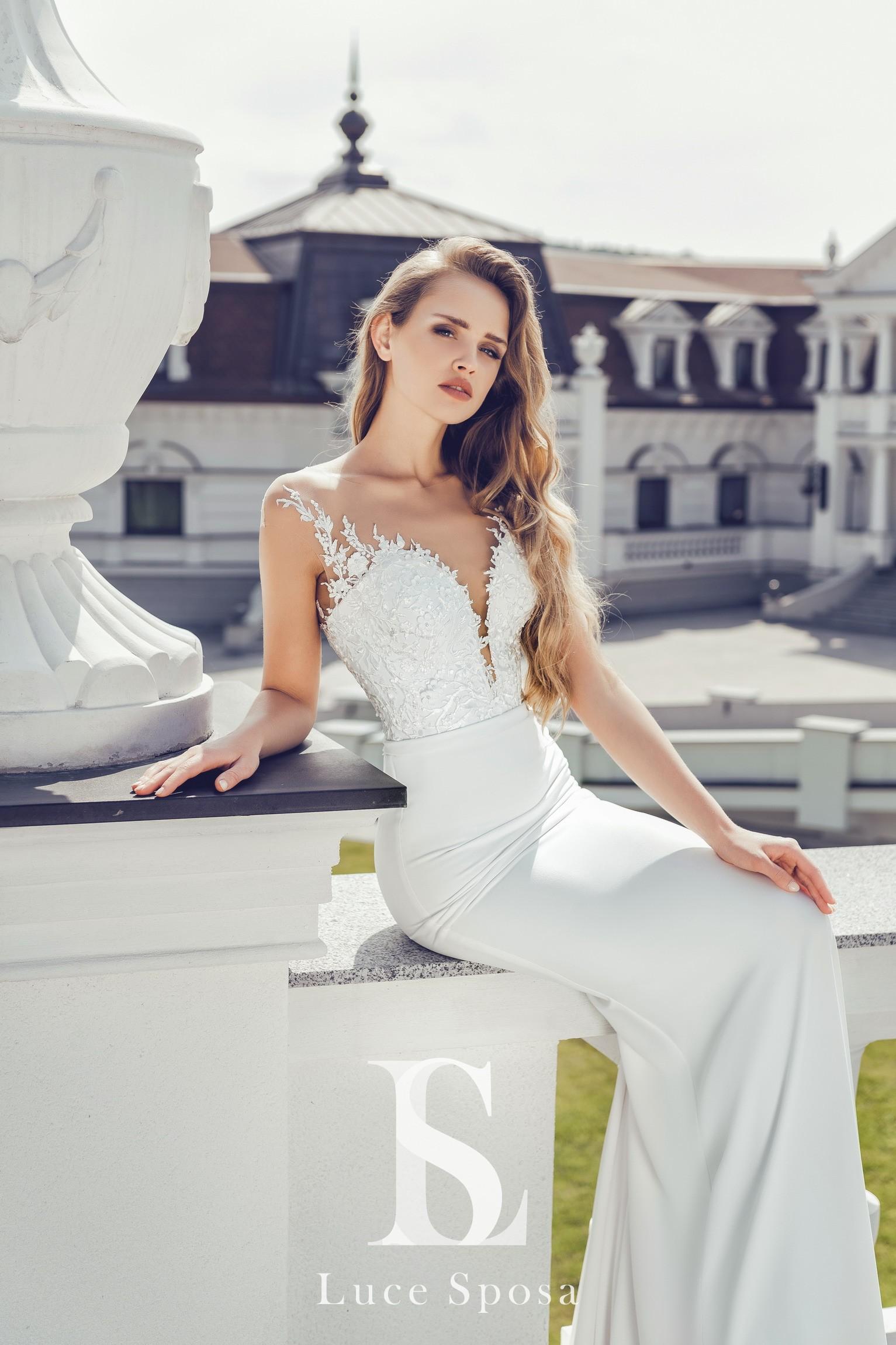 Свадебные платья оптом «Enrica»-1