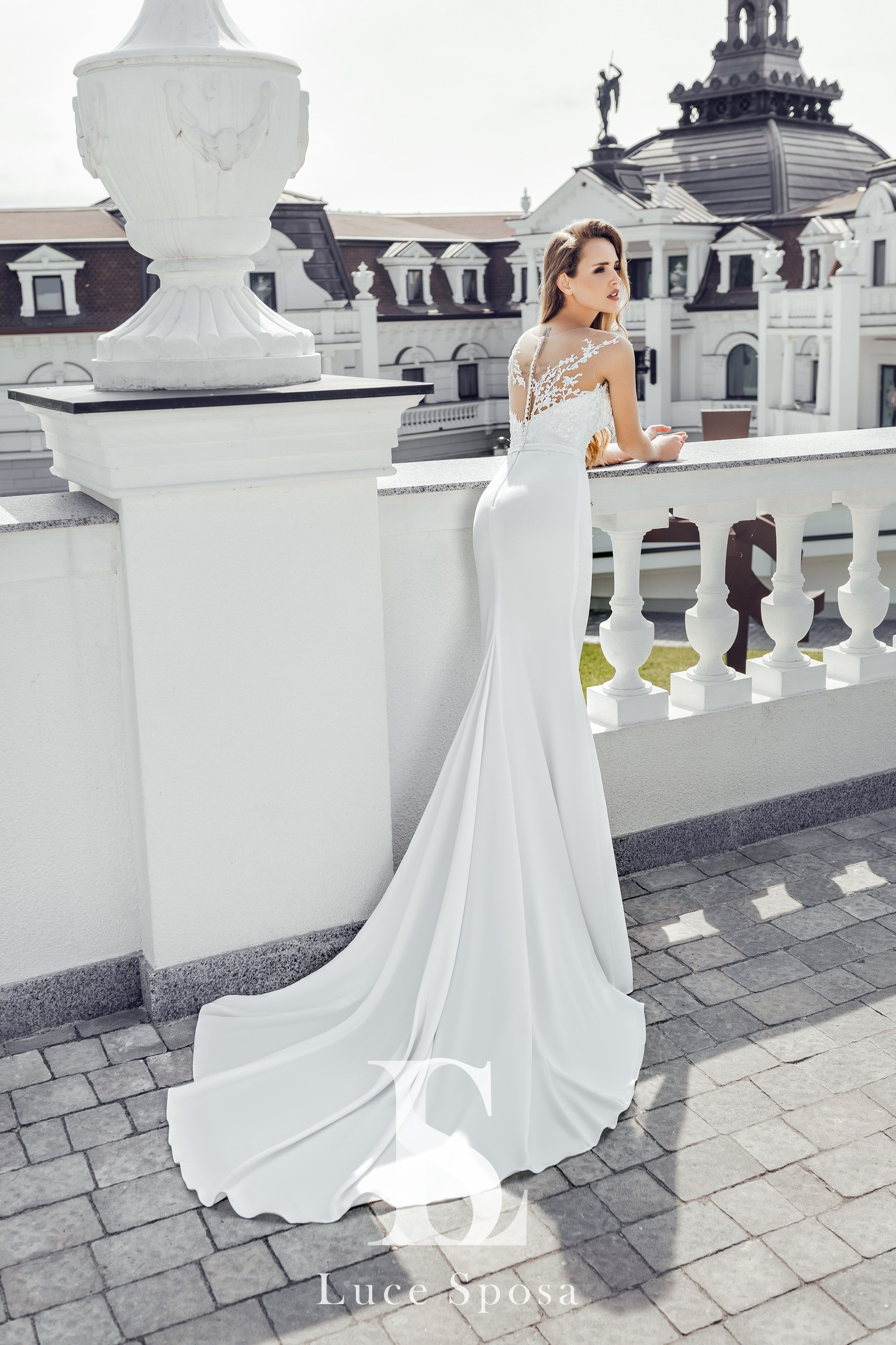 Свадебные платья оптом «Enrica»-2