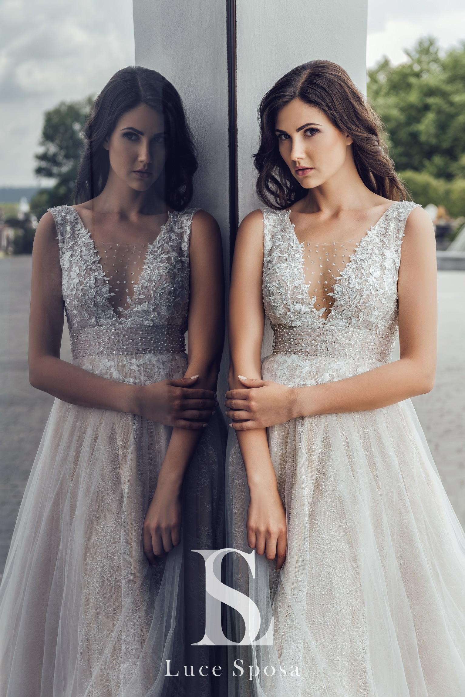 Свадебные платья оптом «Diletta»-1