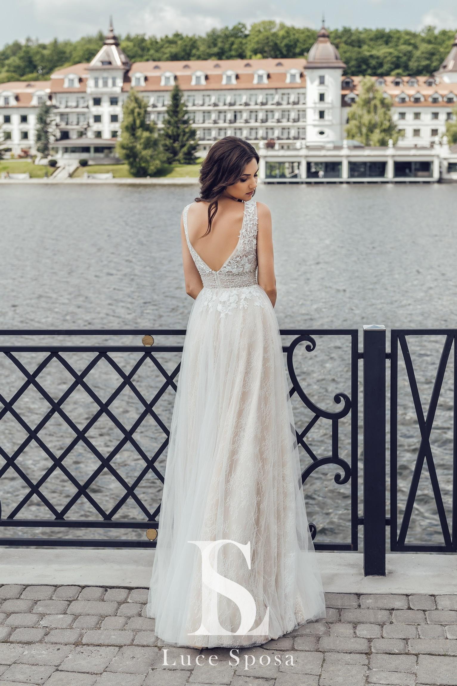 Свадебные платья оптом «Diletta»-3