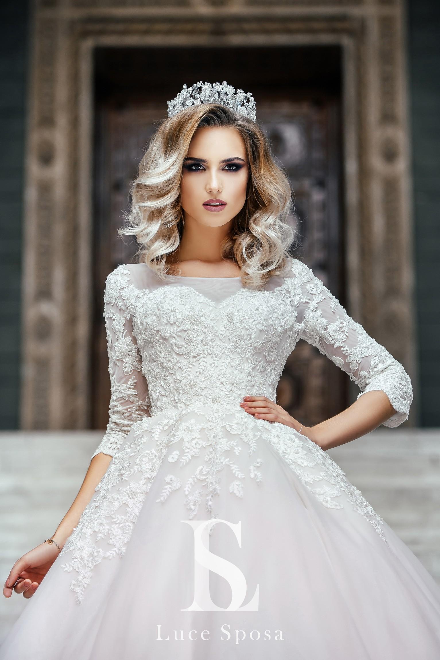 Свадебные платья оптом «Alise»-1