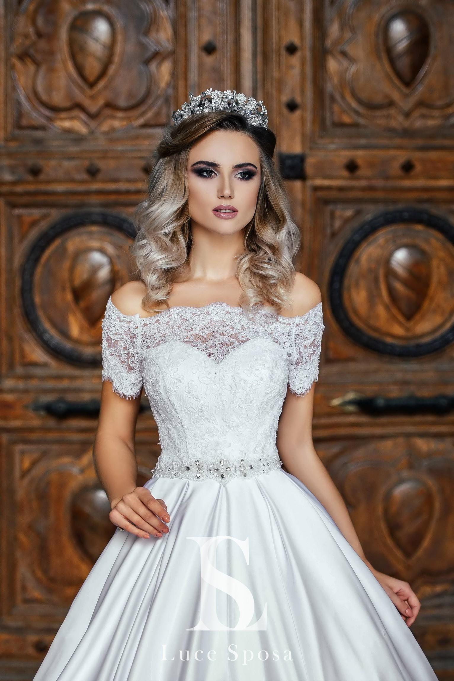 Свадебные платья оптом «Evelyn»-1