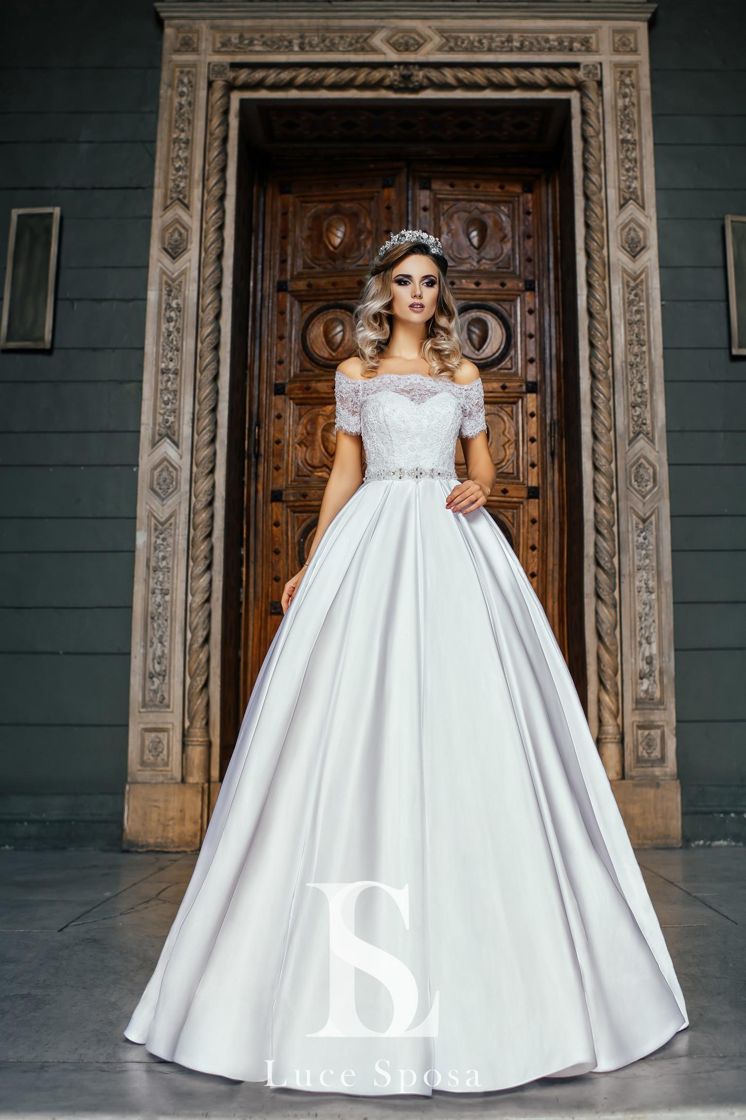Свадебные платья оптом «Evelyn»-2