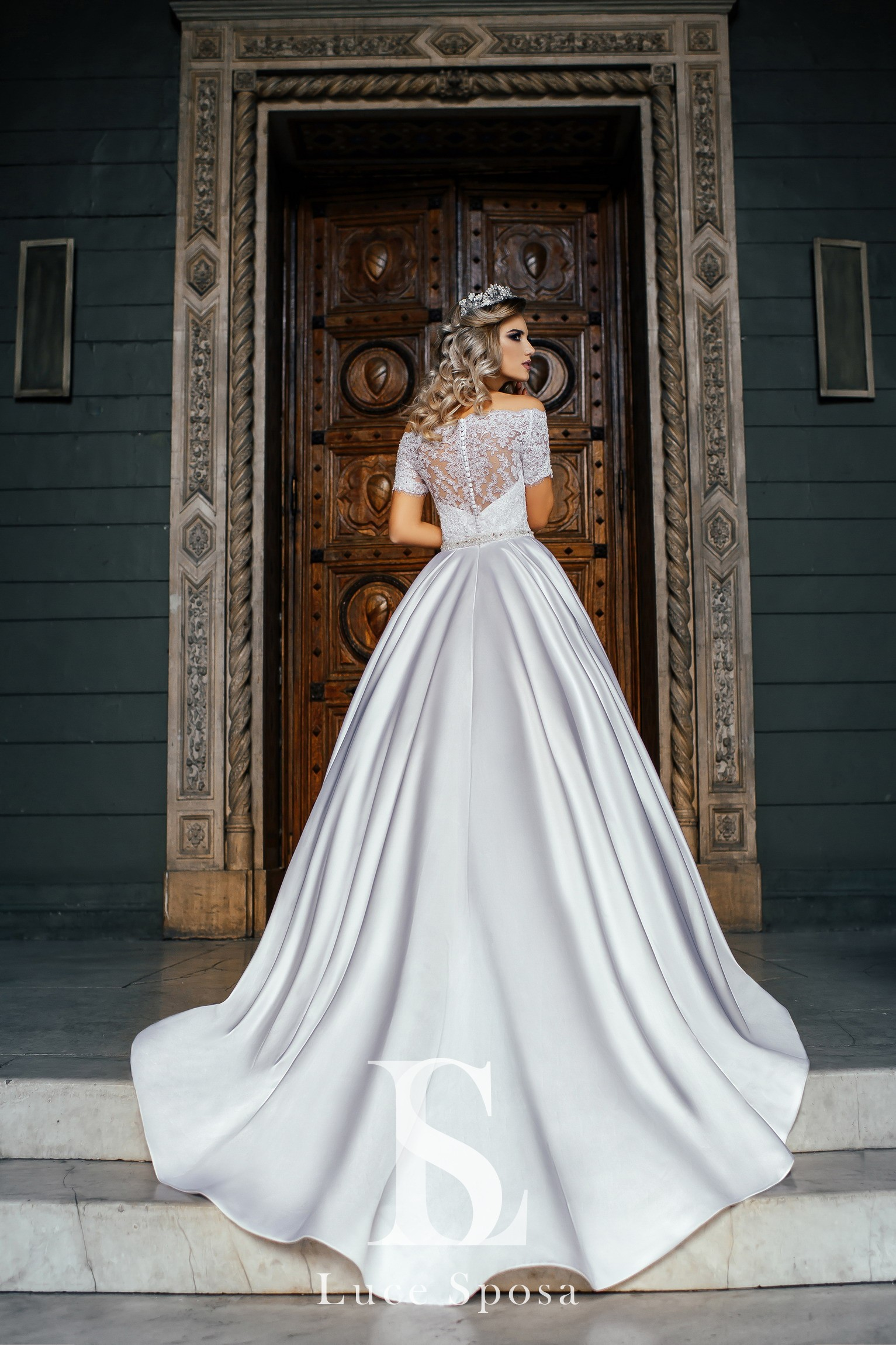 Свадебные платья оптом «Evelyn»-3