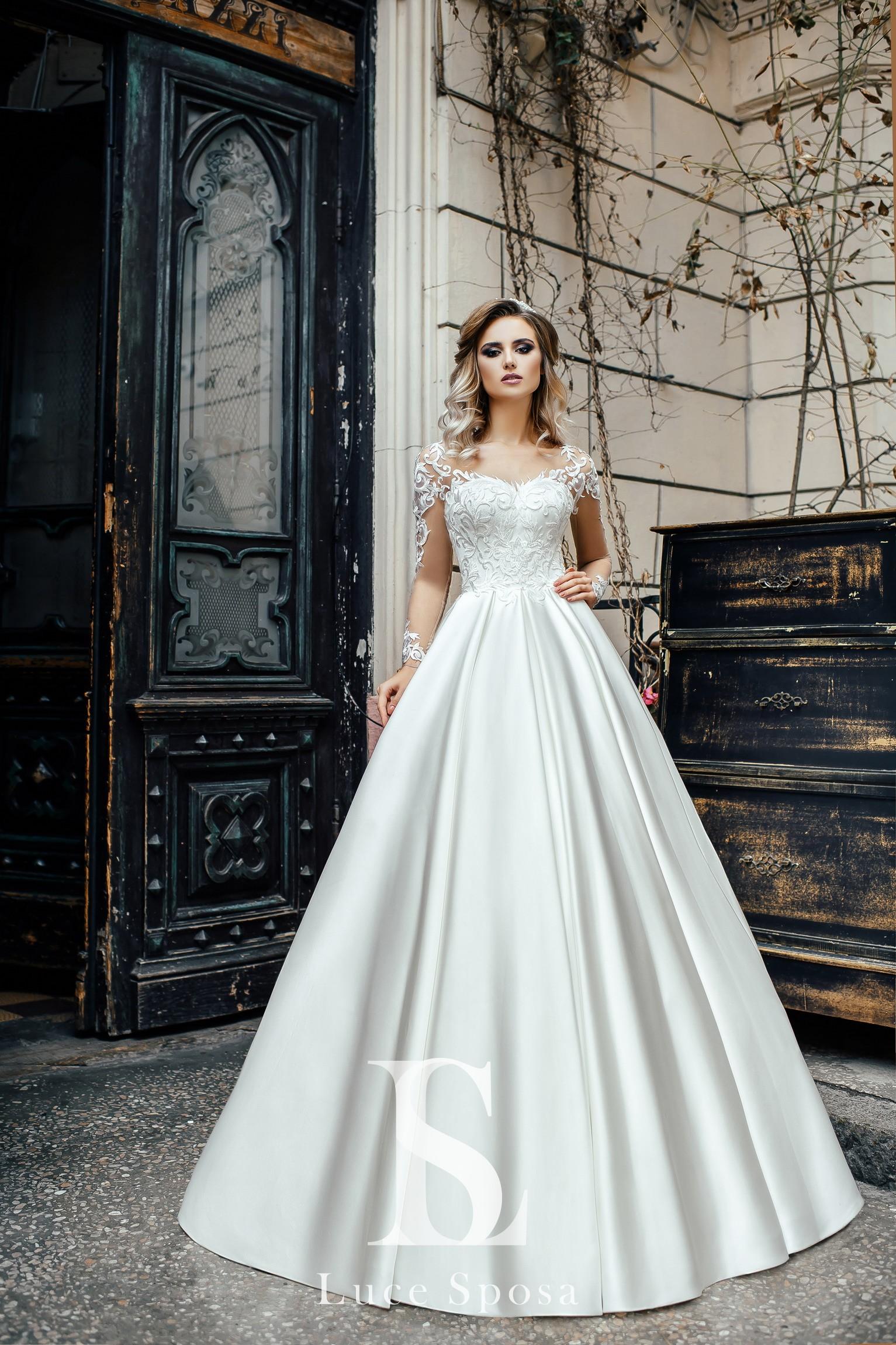 Свадебные платья оптом «Sally»-2