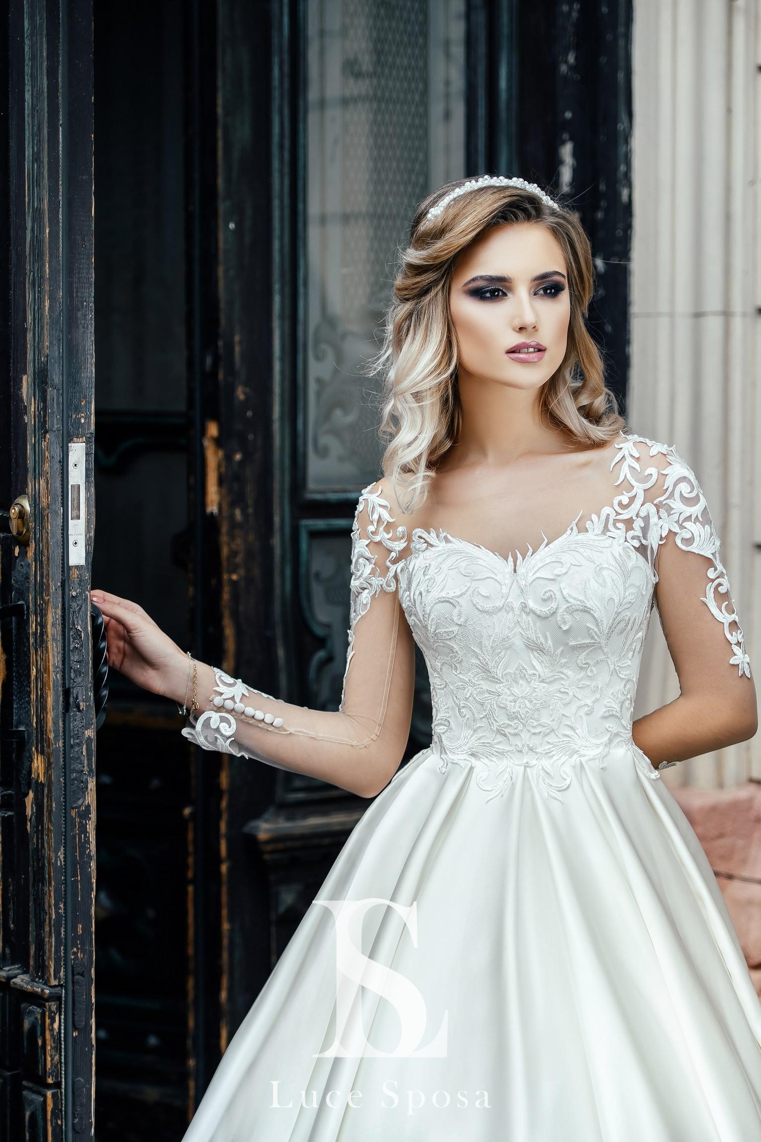 Свадебные платья оптом «Sally»-1