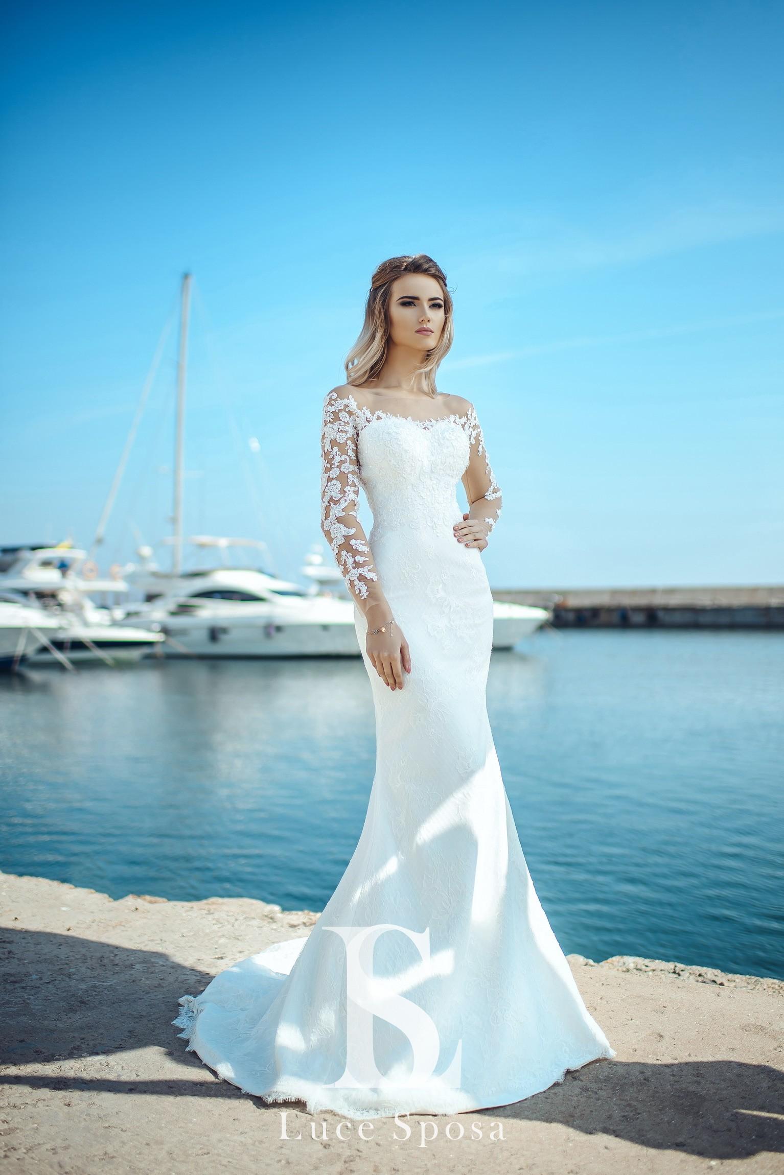 Свадебные платья оптом «Melanie»-3