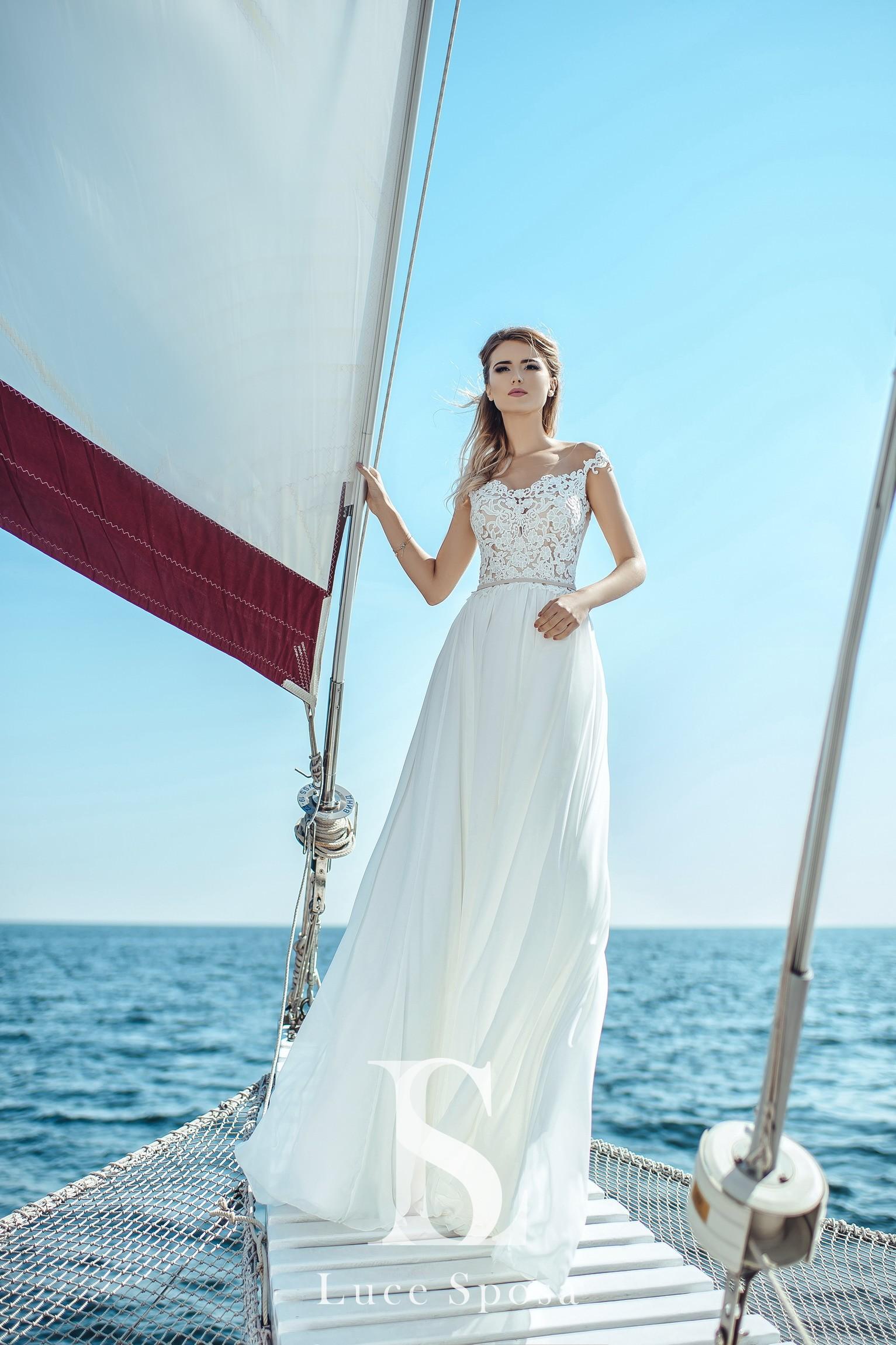 Свадебные платья оптом «Lily»-2