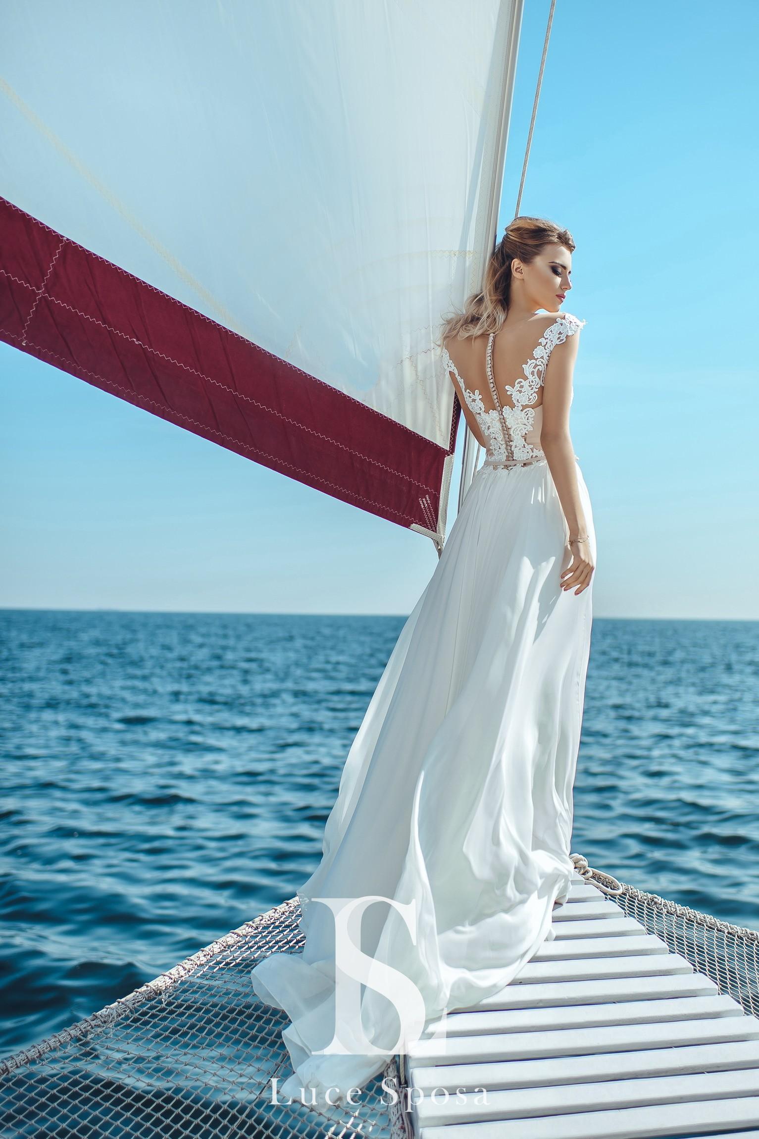 Свадебные платья оптом «Lily»-3