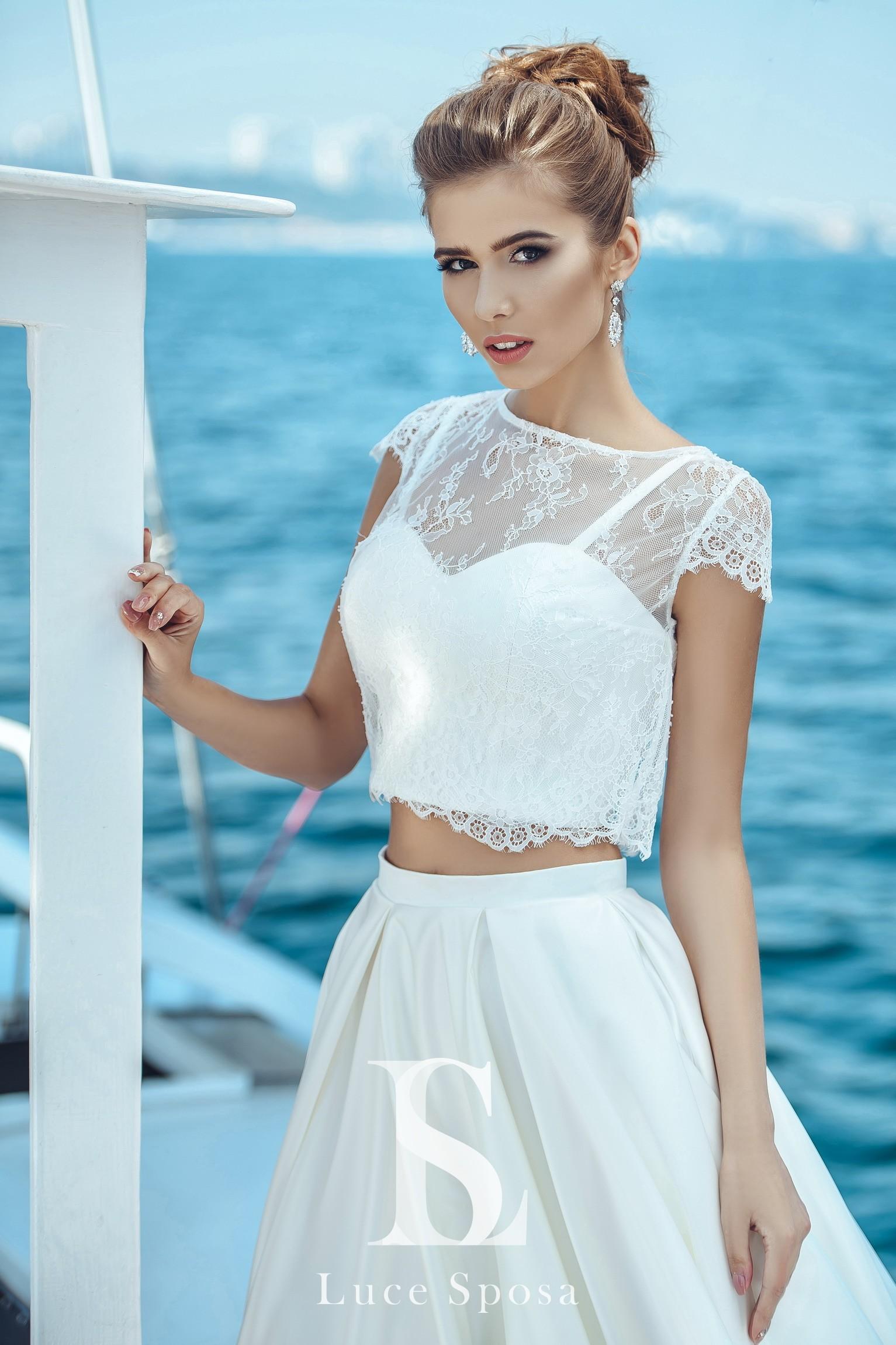 Свадебные платья оптом «Clara»-1