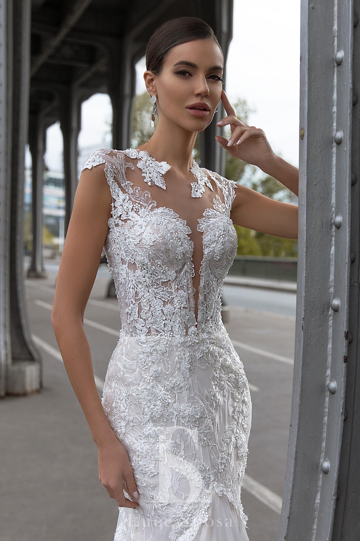 Свадебные платья оптом «Brigitte»-2