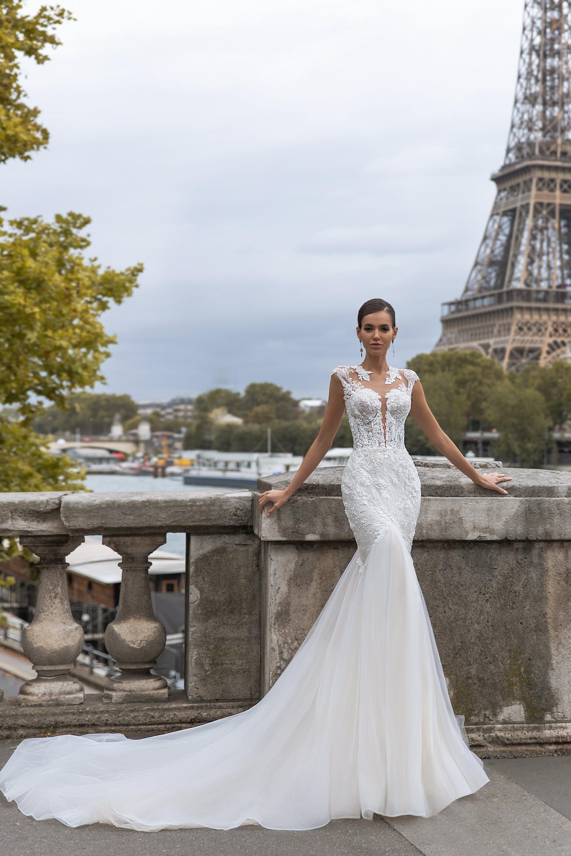 Свадебные платья оптом «Brigitte»-3