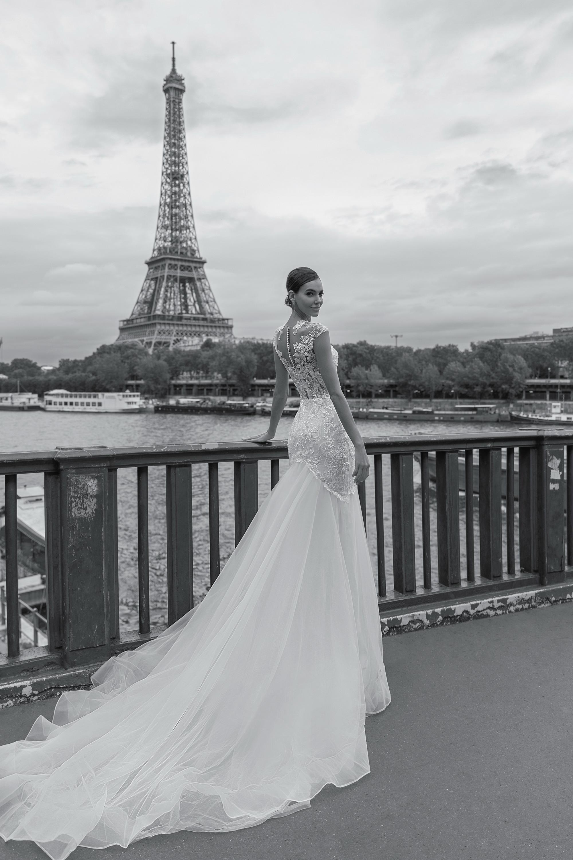 Свадебные платья оптом «Brigitte»-1