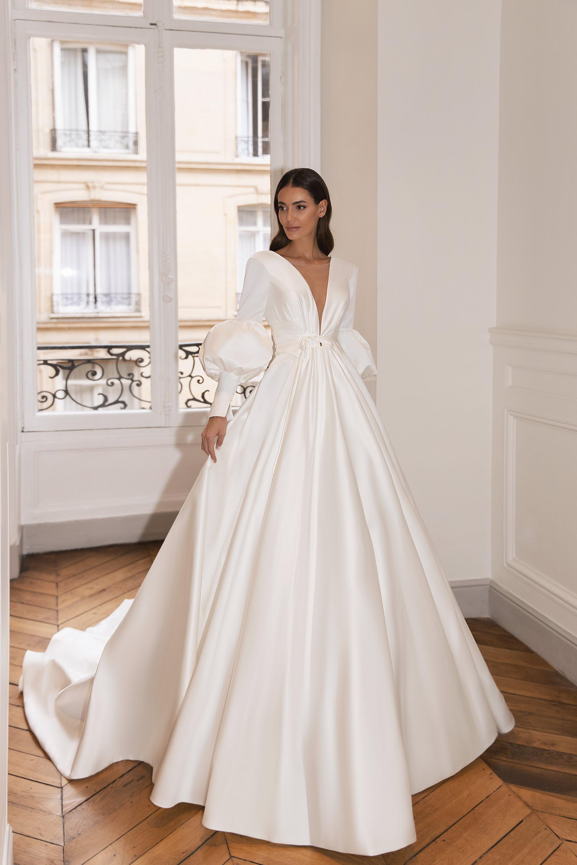 Свадебные платья оптом «Claundine»-1