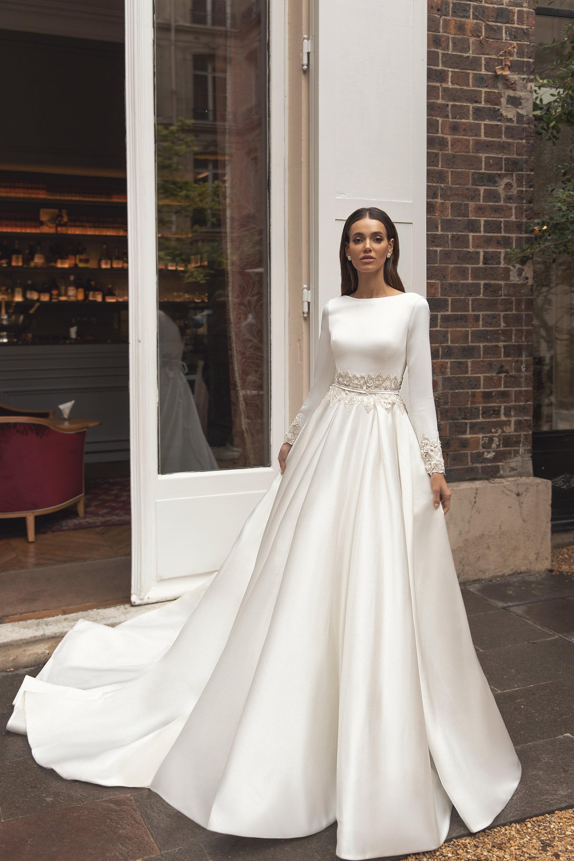 Свадебные платья оптом «Laurence»-1