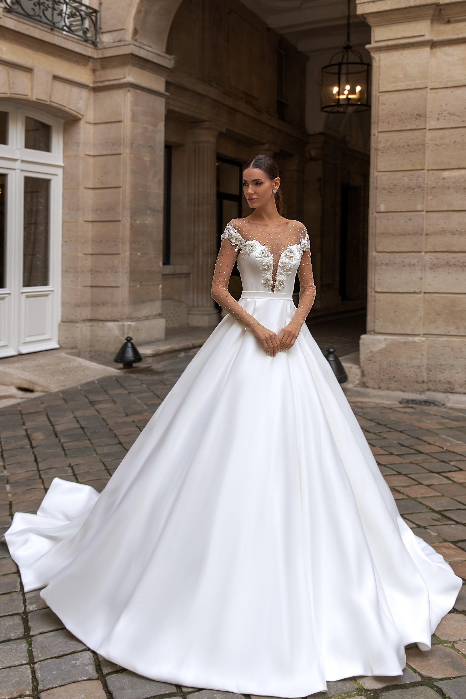 Свадебные платья оптом «Sylvie»-1
