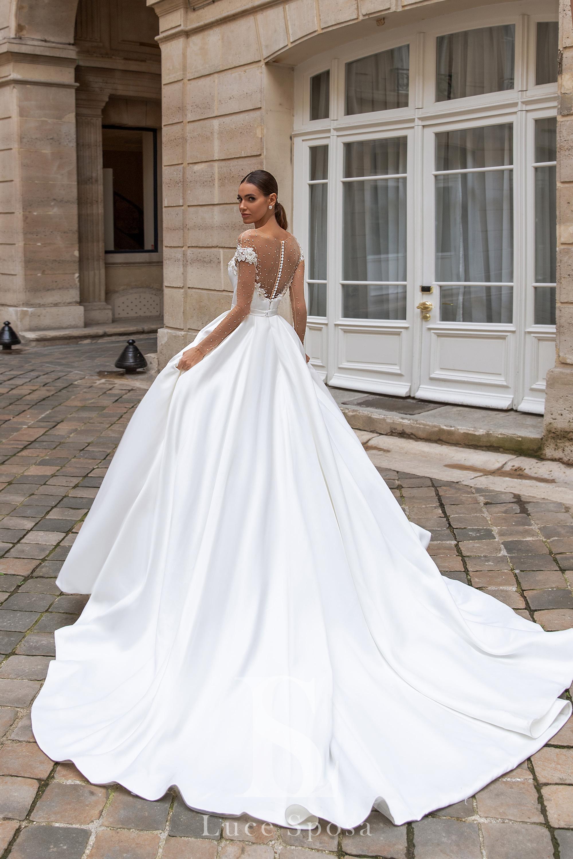 Свадебные платья оптом «Sylvie»-3
