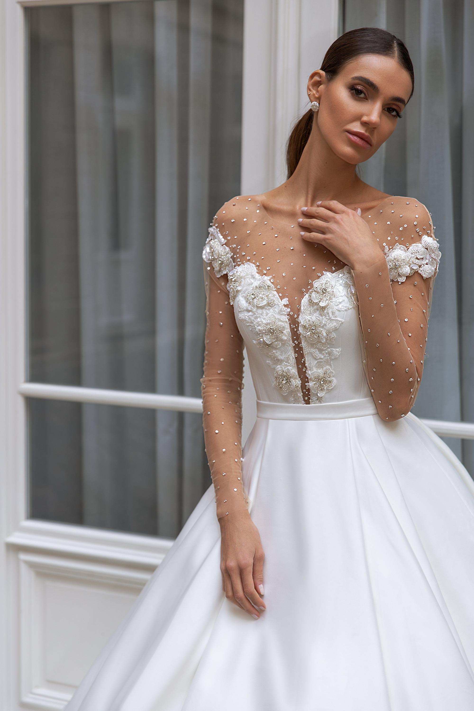 Свадебные платья оптом «Sylvie»-2
