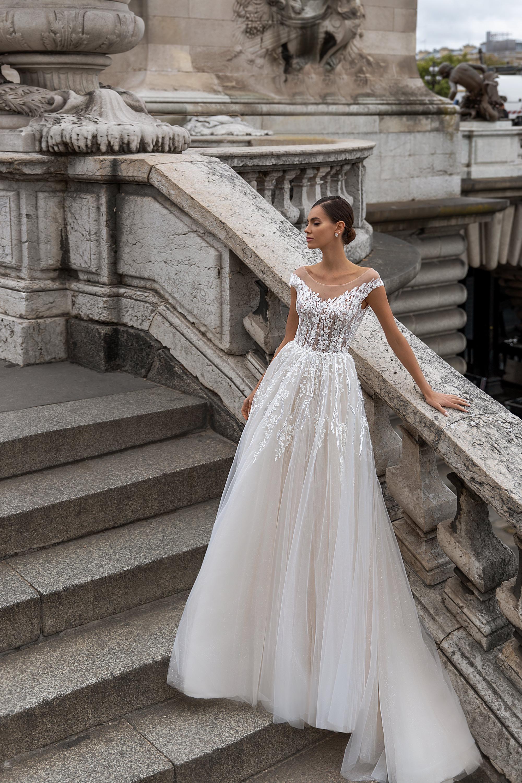 Свадебные платья оптом «Erin»-1