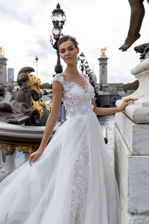 Свадебные платья оптом «Celine»-2