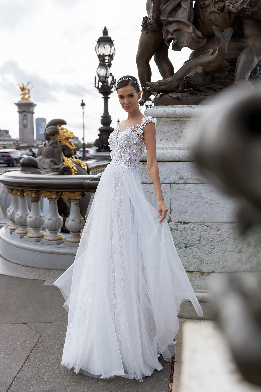 Свадебные платья оптом «Celine»-1