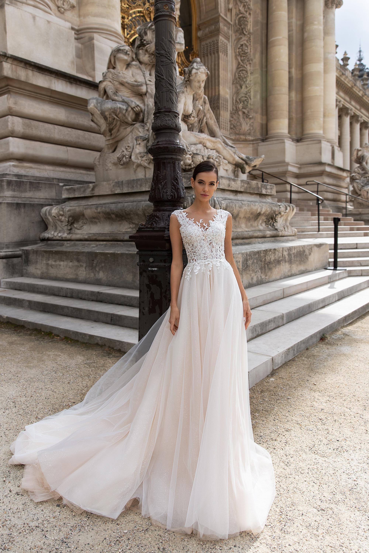 Свадебные платья оптом «Odette»-1