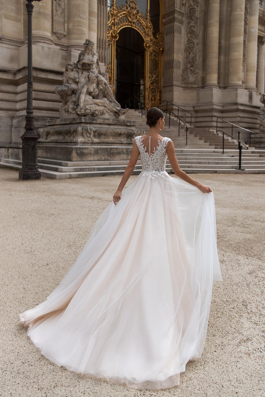 Свадебные платья оптом «Odette»-3