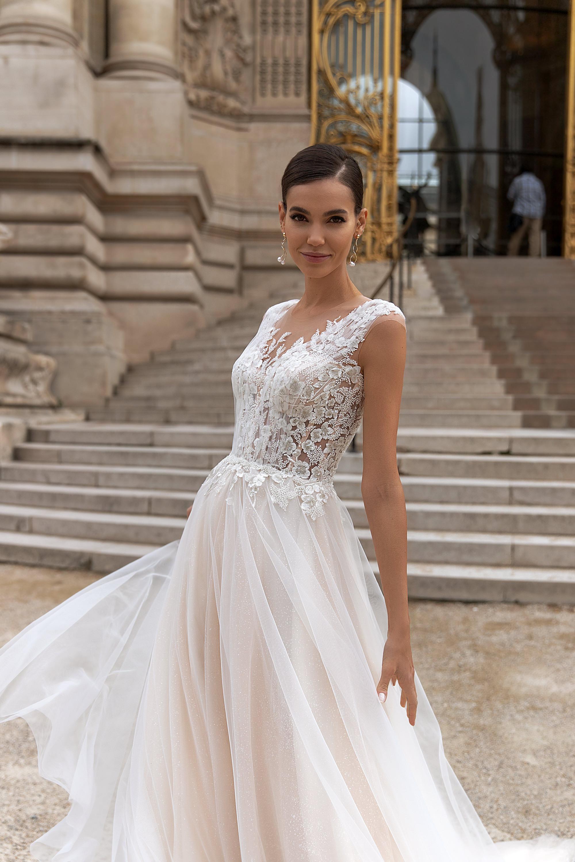 Свадебные платья оптом «Odette»-2