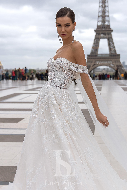 Свадебные платья оптом «Clemence»-2