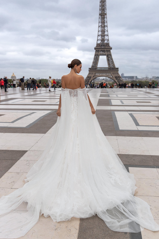 Свадебные платья оптом «Clemence»-3