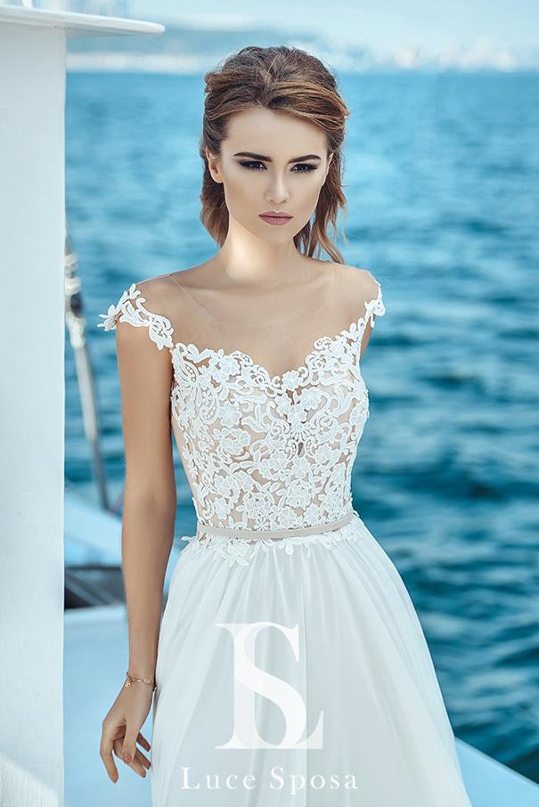 Свадебные платья оптом «Lily»-1